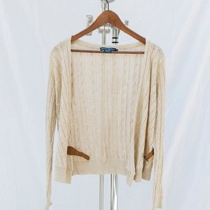 Ralph Lauren Cable Knit Cardigan - Italian Yarn